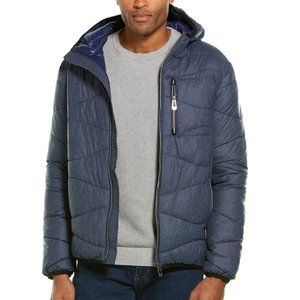 NWT NOIZE Zander Wavy Quilted Lightweight Puffer Jacket Coat - Boys Youth L/12